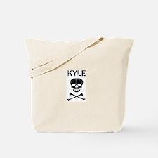 KYLE (skull-pirate) Tote Bag