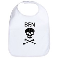 BEN (skull-pirate) Bib