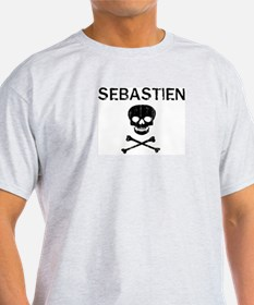 SEBASTIEN (skull-pirate) T-Shirt