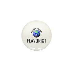 World's Coolest FLAVORIST Mini Button (10 pack)