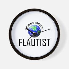 World's Coolest FLAUTIST Wall Clock