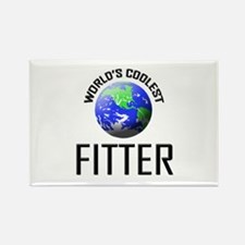World's Coolest FITTER Rectangle Magnet