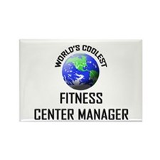 World's Coolest FITNESS CENTER MANAGER Rectangle M