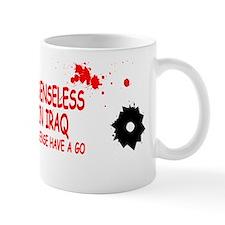 Iraq war funny offensive Mug