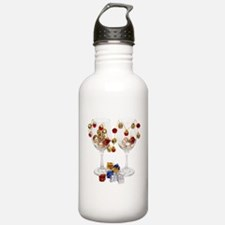 CheerfulWineGlasses053 Water Bottle