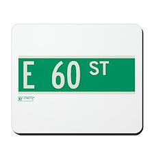60th Street in NY Mousepad