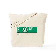 60th Street in NY Tote Bag