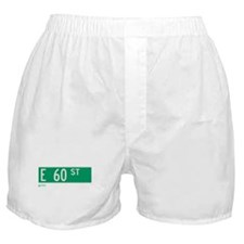 60th Street in NY Boxer Shorts
