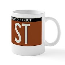 60th Street in NY Mug