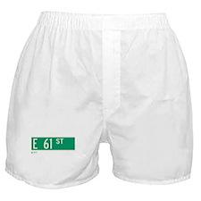 61st Street in NY Boxer Shorts