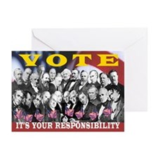 IT'S YOUR RESPONSIBILITY Greeting Cards (Pk of 10)