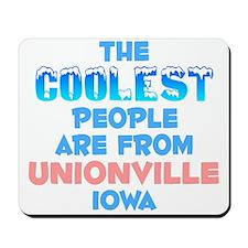 Coolest: Unionville, IA Mousepad