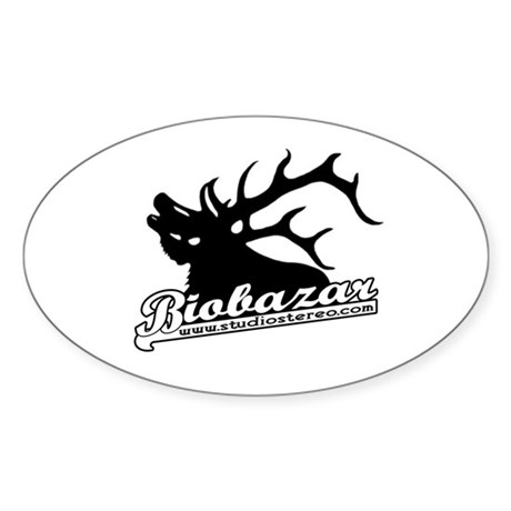 Biobazar Oval Sticker