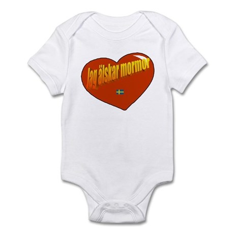 Jag Älskar Mormor Infant Bodysuit