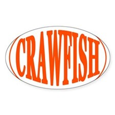 Crawfish Oval Oval Decal