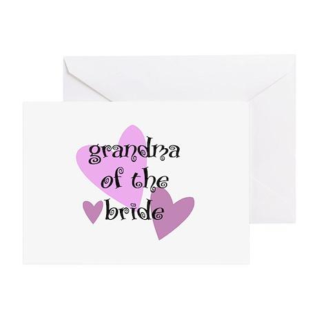 Grandma of the Bride Greeting Card