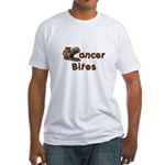 Cancer Bites Fitted T-Shirt