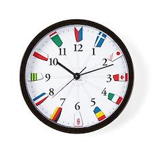 Cute Rower Wall Clock