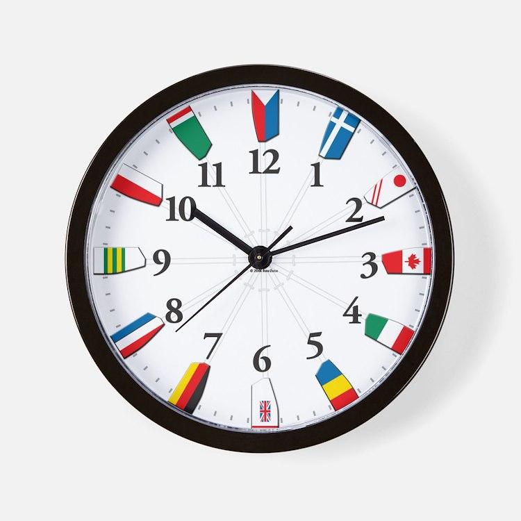 Cute Regatta Wall Clock