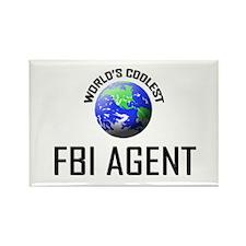 World's Coolest FBI AGENT Rectangle Magnet