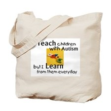 Unique Autism Tote Bag