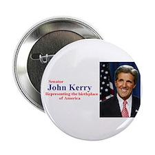 """Senator Kerry"" Button"