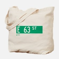 63rd Street in NY Tote Bag