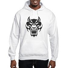 Wolf Black Design #27 Hoodie