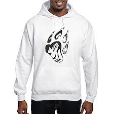 Wolf Black Design #25 Hoodie