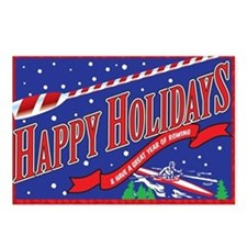 Holiday Rowing Postcards (Package of 8)