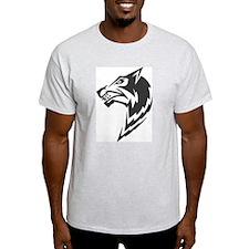 Wolf Black Design #16 T-Shirt