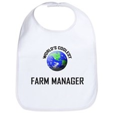 World's Coolest FARM MANAGER Bib