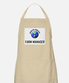 World's Coolest FARM MANAGER BBQ Apron