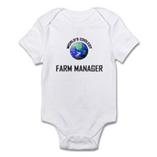 World's Coolest FARM MANAGER Infant Bodysuit