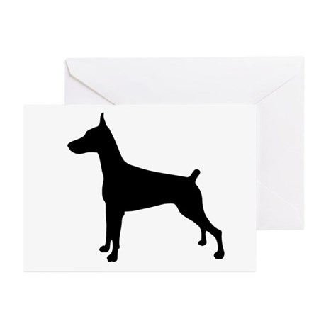 Dobe Silhouette Greeting Cards (Pk of 10)