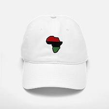 Red Black Green Afrika Baseball Baseball Cap