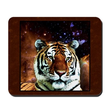 Bengal Tiger In Space Mousepad