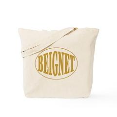 Beignet Oval Tote Bag