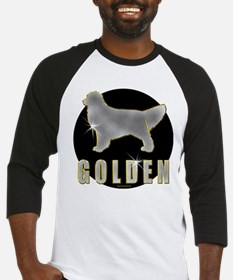 Bling Golden Retriever Baseball Jersey