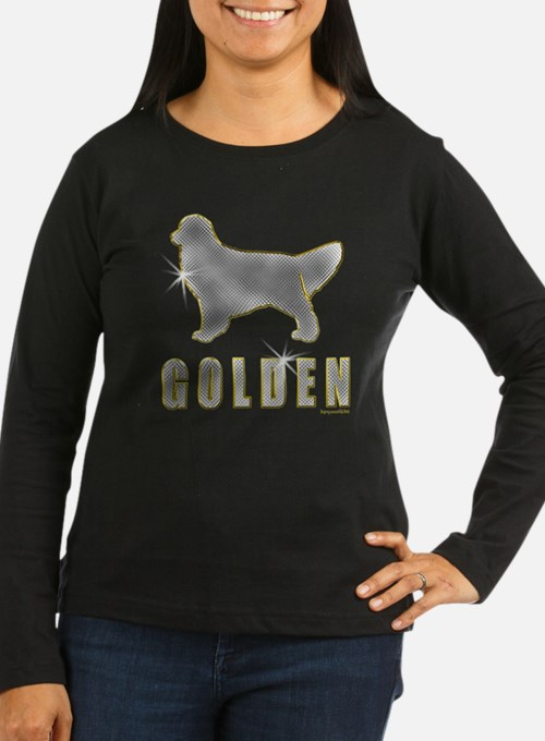 Bling Golden Retriever T-Shirt