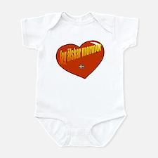 Jag Älskar Morfar Infant Bodysuit