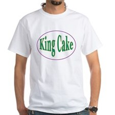 King Cake Oval Shirt