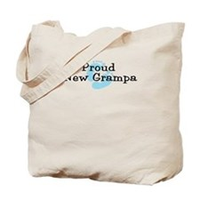 Proud New Grampa B Tote Bag