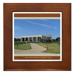 Amon Carter Museum Framed Tile