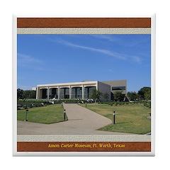 Amon Carter Museum Tile Coaster