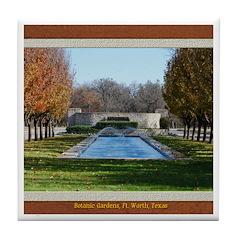 Botanic Gardens Tile Coaster