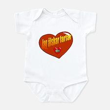 Jag Älskar Farfar Infant Bodysuit