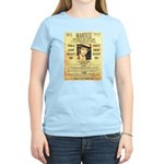 Wanted Creepy Karpis Women's Light T-Shirt