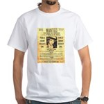 Wanted Creepy Karpis White T-Shirt