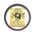 Wanted Creepy Karpis Wall Clock